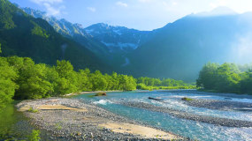 4k中国西藏灵芝四川春夏秋节气自然风景视频素材