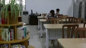 图书馆.学习书籍知识海洋视频素材
