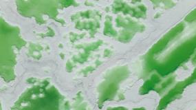 青海翡翠湖航拍4K视频素材视频素材