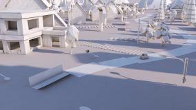 折纸城市C4D工程C4D工程
