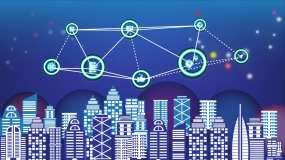 网络安全智慧城市保护盾建设AE模板
