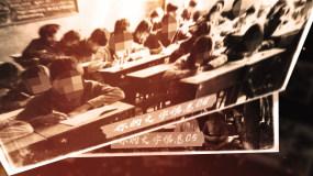 【无插件】大气历史感老照片飞入效果AE模板