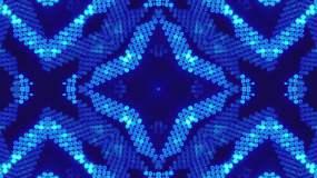蓝色动感炫丽节奏背景-6视频素材