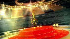 音乐类颁奖片头视频视频素材