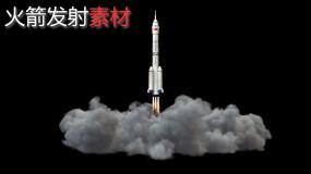 【4K】火箭发射素材(alpha)视频素材包