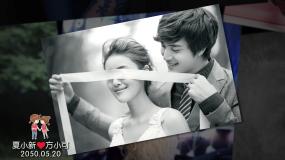 2020简约奢华高端抖音婚礼韩式电子相册AE模板