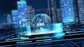 一镜到底快速穿梭城市AE模板