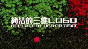 4K简洁的三维LOGO片头AE模板AE模板
