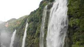 马岭河峡谷航拍4K大气壮观视频素材