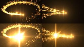 4款粒子光线转场(带通道)视频素材包