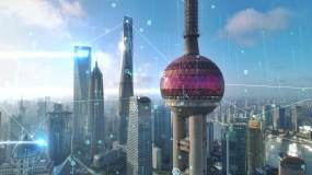 科技城市AE模板