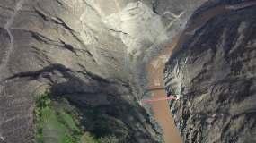 怒江之畔大桥视频素材