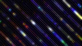 4K彩色荧光粒子动感舞台晚会背景视频素材