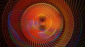 大气舞台花纹波动视频素材