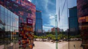 黑白素雅画轴北京宣传片企业专题片AE模板