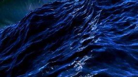 大海风暴海啸视频素材