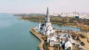 苏州园区教堂视频素材