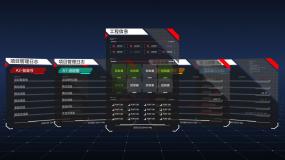 24组HUD信息面板弹窗动画元素包AE模板