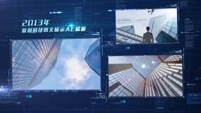 科技图片展示AE模板