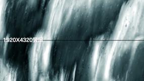 抽象水墨竖屏折幕投影1号视频素材
