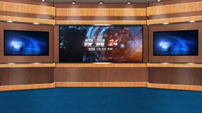 主持人新闻娱乐综艺节目虚拟演播室演播厅AE模板