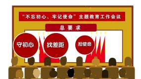 MG简洁党政机关主题教育党员教育AE模板AE模板