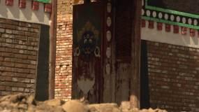 实拍道帏铁尕楞闭关房视频素材