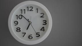 时间钟表01视频素材