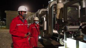 油气处理部天然气处理视频素材