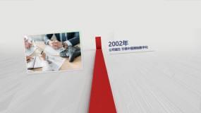 片头发展历程时间轴时间大事件AE模板
