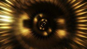 大气恢弘金色螺旋光线背景视频素材