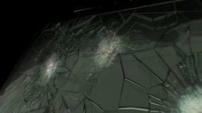 建筑防弹玻璃片头AE模板