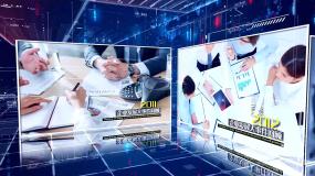 科技感企业发展历程展示AE模板