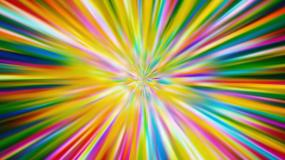 绚丽彩虹射线视频素材