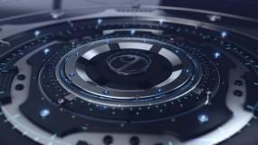 机械震撼电影科技栏目片头logo开场AE模板
