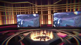 二次元游戏VR开场AE模板