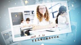 毕业季美好回忆照片展示ae模板005AE模板