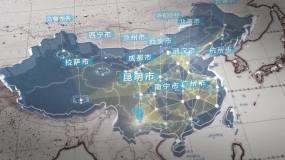 昆明市辐射全国全世界(视频素材)视频素材