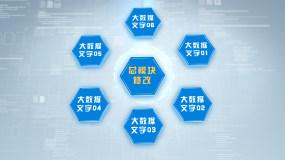 大数据模块_六大(无插件)AE模板