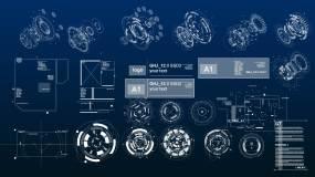高科技HUD元素ae模板AE模板