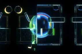 光影折射反射视频素材