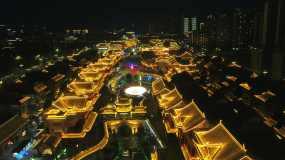 东坡印象水街视频素材