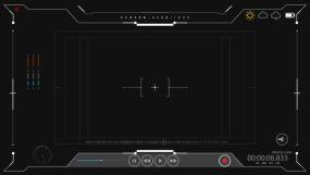 科技框01视频素材