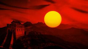 朗诵《青春中国》背景视频视频素材