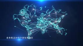 世界地图AE模板