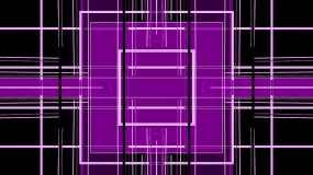 酷炫质感霓虹几何线条方格酒吧vj电臀舞视频素材