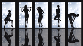 性感gogo秀舞蹈素材视频素材