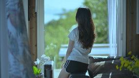 旅行旅游美好生活海边度假文艺女孩品质生活视频素材包