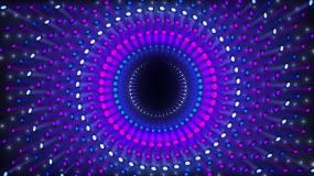 七彩粒子LED舞台背景视频素材
