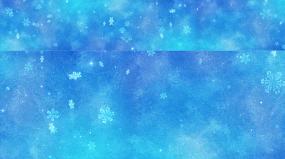 雪花背景视频素材